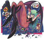 Morrigan and Yatterman1