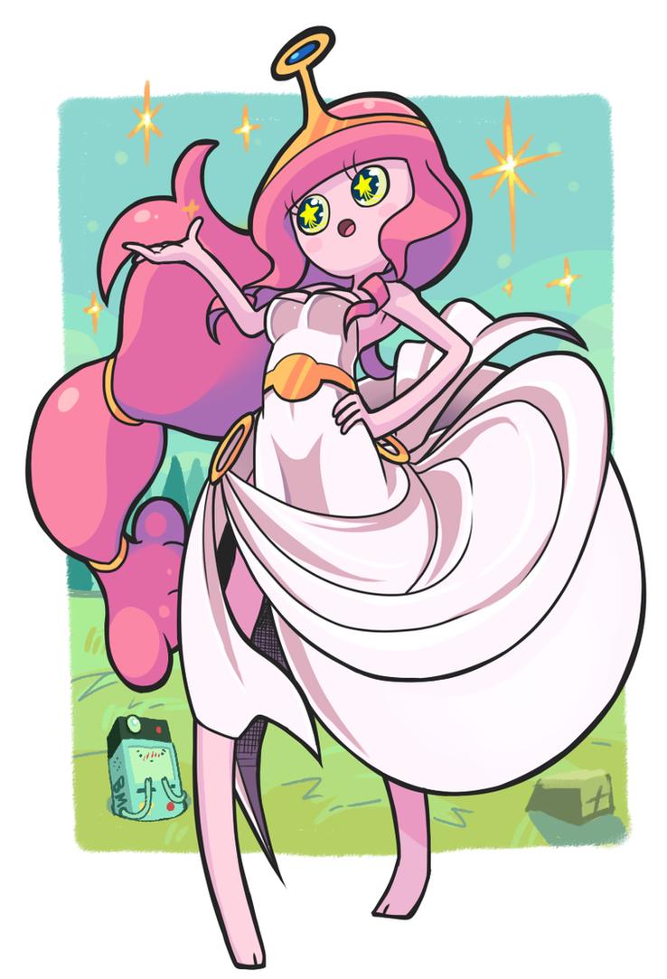 Princess bubblegum doodle by Gashi-gashi