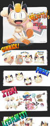 Meowth action figure by Gashi-gashi