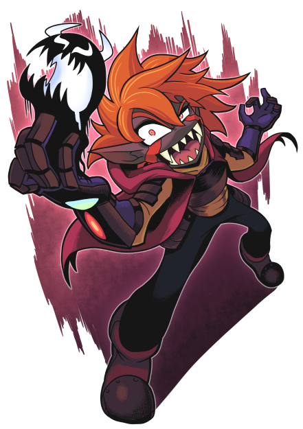 His character  drowtales's commissions by Gashi-gashi