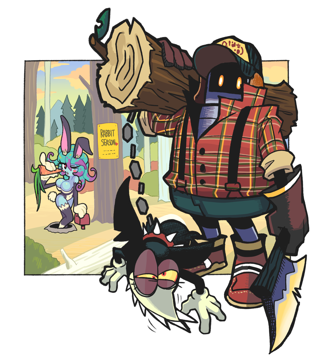 lumberjack by Gashi-gashi
