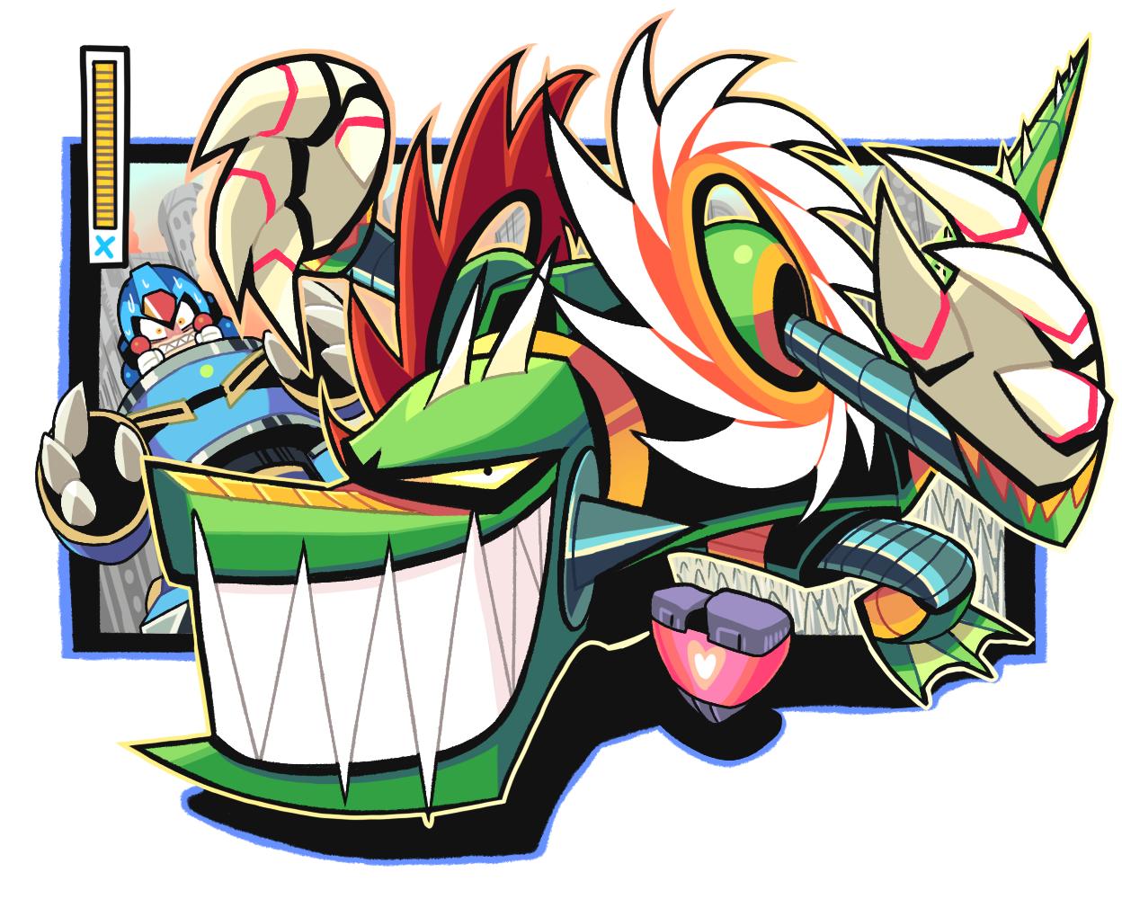 Wheel gator Doodle by Gashi-gashi