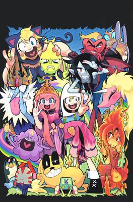 AdventureTime comic 21 cover art