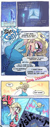 Frozen comic by Gashi-gashi