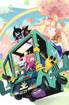 Adventure Time #46 variant cover art