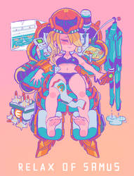 Relax of Samus by Gashi-gashi