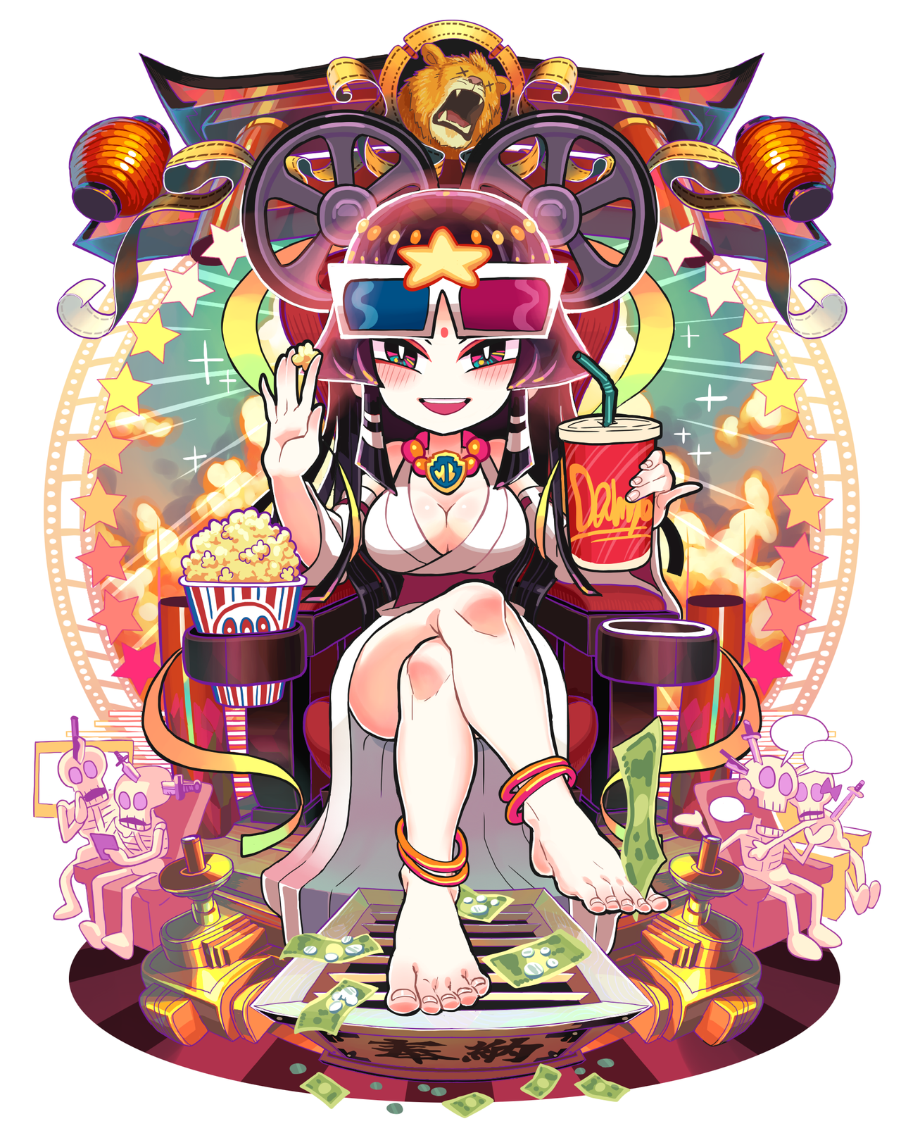 movie goddess by Gashi-gashi