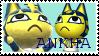 Animal Crossing Ankha Stamp by CatJamSprinkles