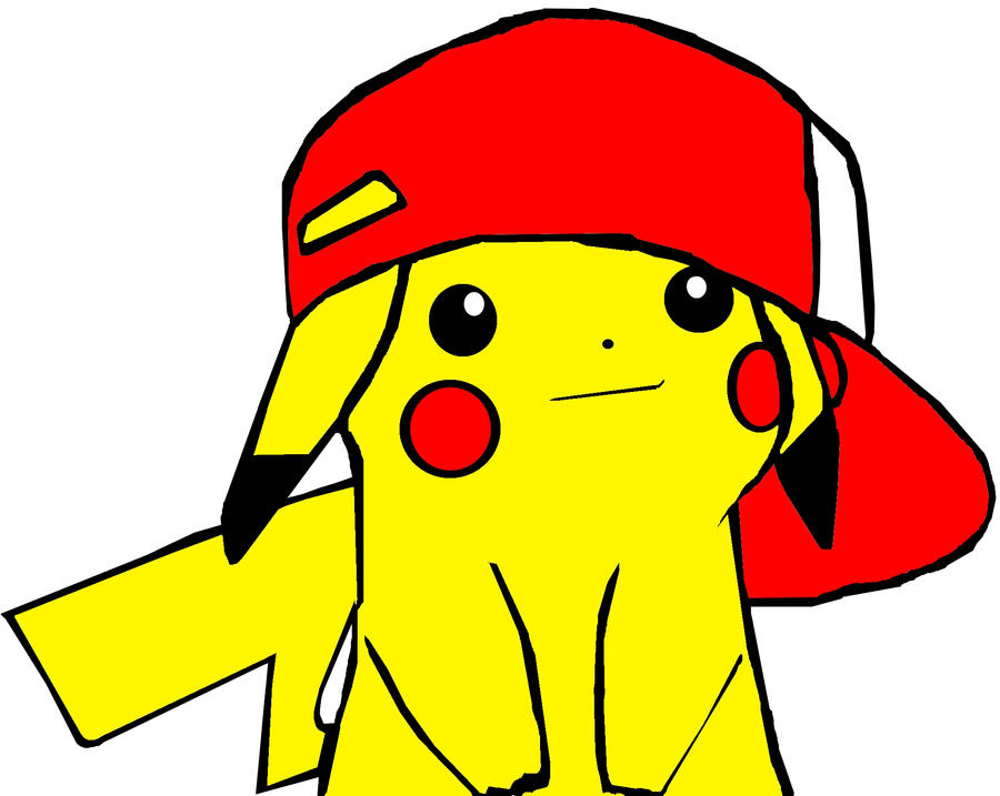 Pikachu with ash s hat related keywords pikachu with ash s hat long