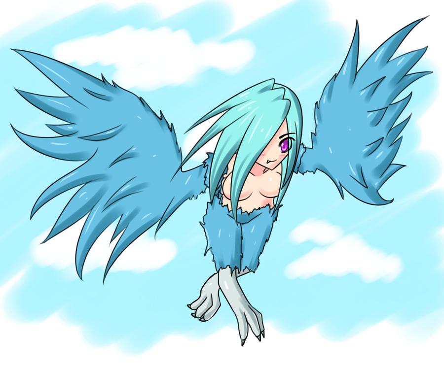 Monster Girl Challenge 1: Harpy by Jcdr