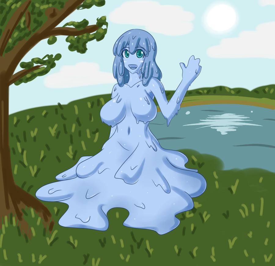 Monster Girl Challenge 3: Slime by Jcdr