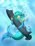 Mermaid hugs