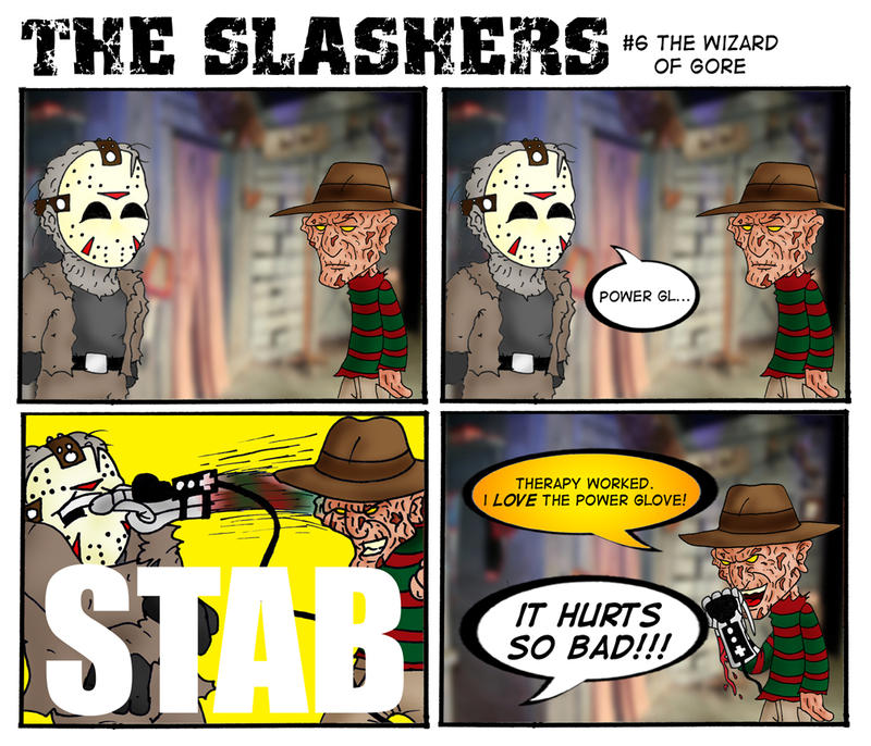 The Slashers 6 by crashdummie