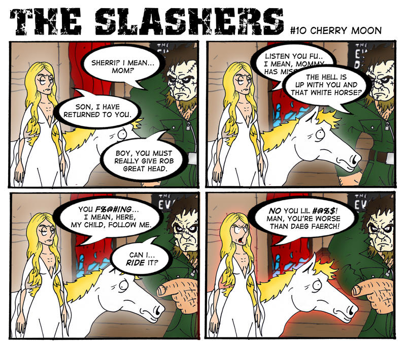 The Slashers 10 by crashdummie