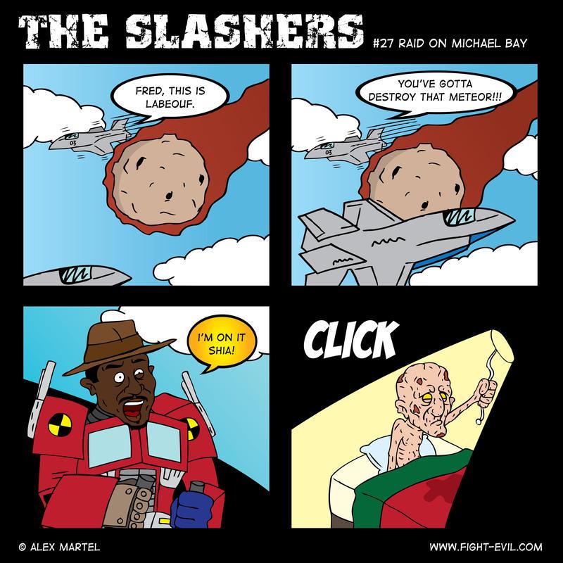 The Slashers 27 by crashdummie