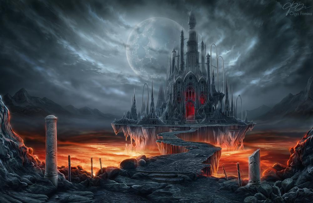 City of Dreams by Helga-Helleborus