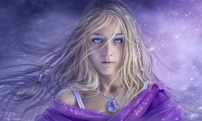 blue ice by Helga-Helleborus