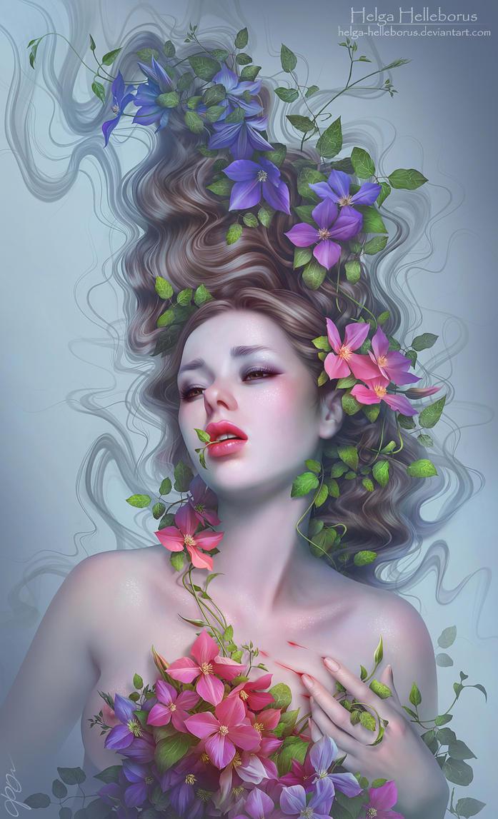 Beauty is on the inside by Helga-Helleborus