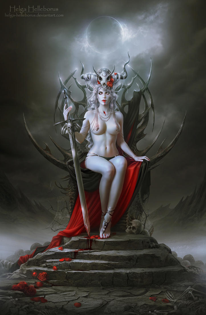 Lady Death by Helga-Helleborus