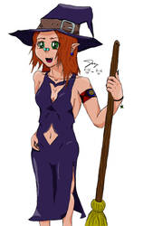 Madeline, The Witch Girl by RidleyofZebes