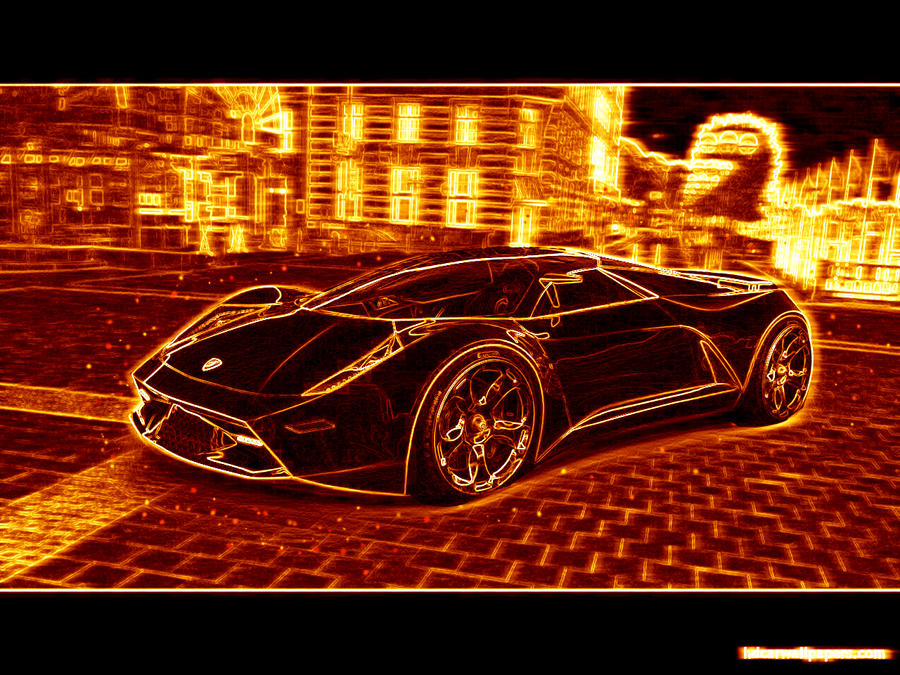 On Fire Lamborghini By Volcomstone1 On Deviantart