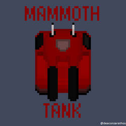 Tanque Mamut by spidermoises