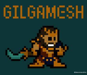 Gilgamesh by spidermoises