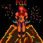 Pixel Pele by spidermoises
