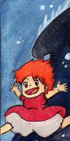 Run Ponyo by InvitationToIllusion