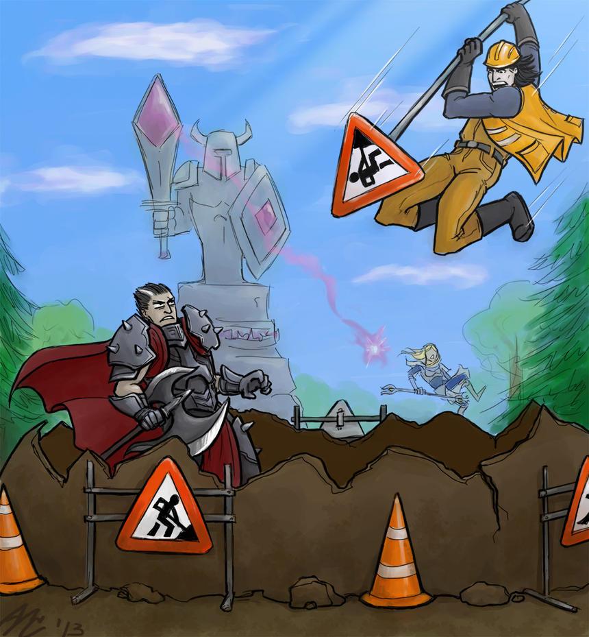 ROADWORKS! by SolumCaelum