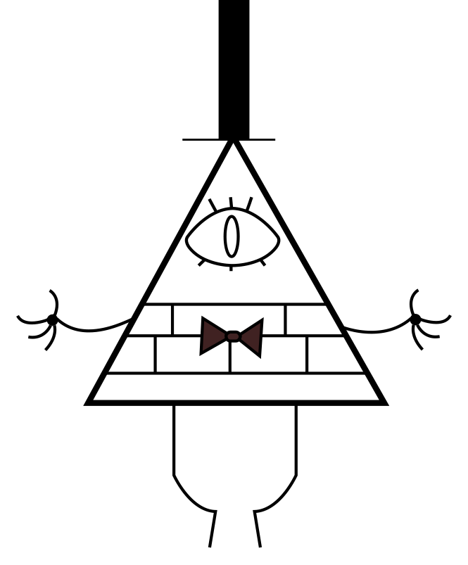 Bill cipher coloring pages ~ Bill Cipher 1 by AnimeDark2 on DeviantArt