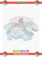 Pokemon Kanto 001-4 Mega by AnimeDark2