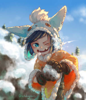Snowball fight by Ehdo
