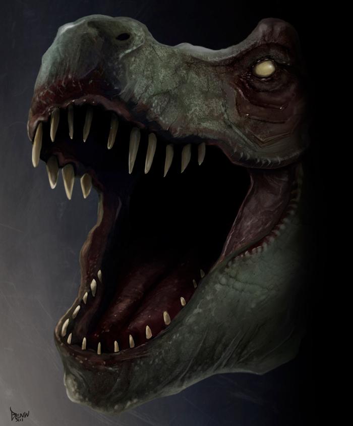 Dino Deluxe by arteechoke