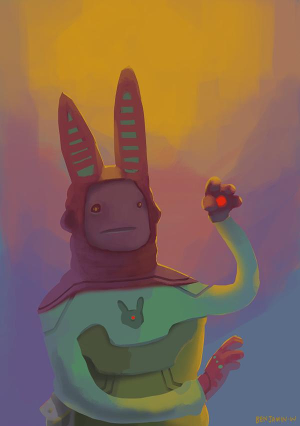 Mr Floppy by arteechoke