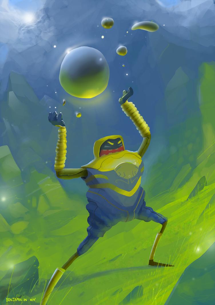 Just your generic super hero character by arteechoke