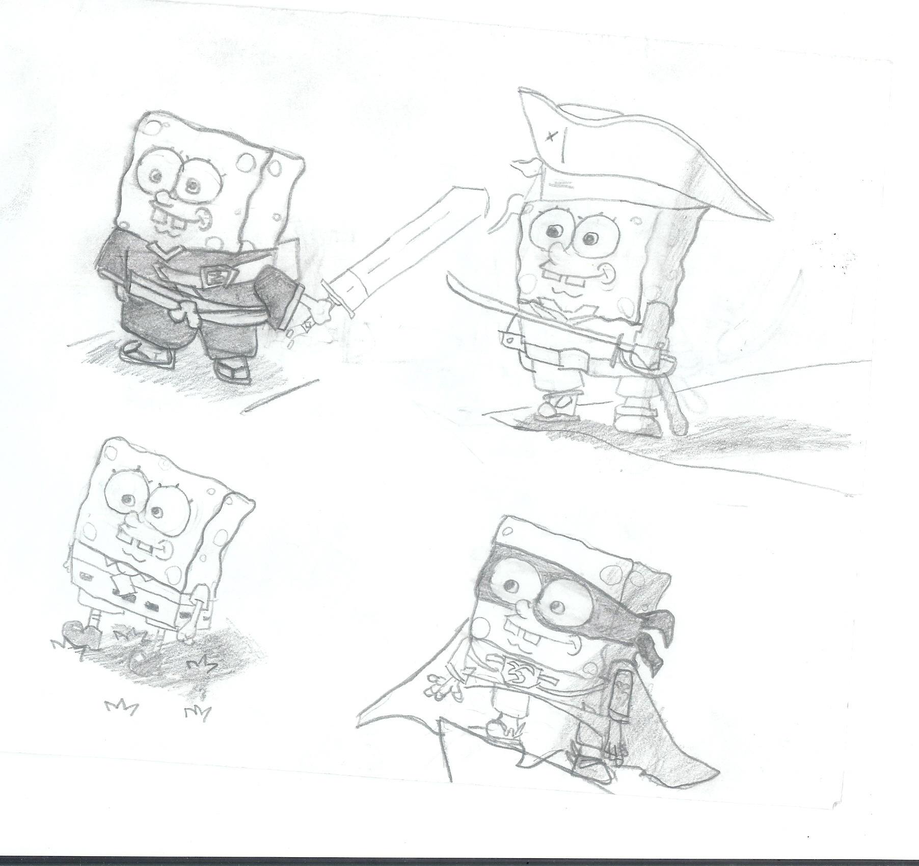 Spongebob experiment by Newbiemember