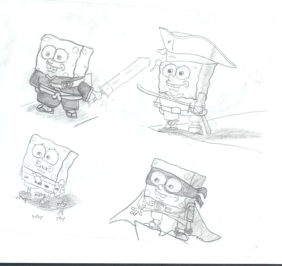 Spongebob experiment by Newbiemember