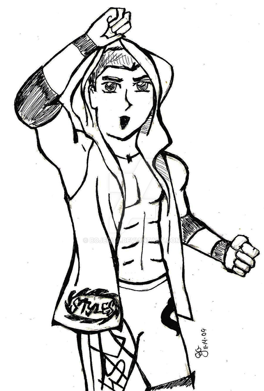aj styles coloring pages aj styles by bojesha on deviantart