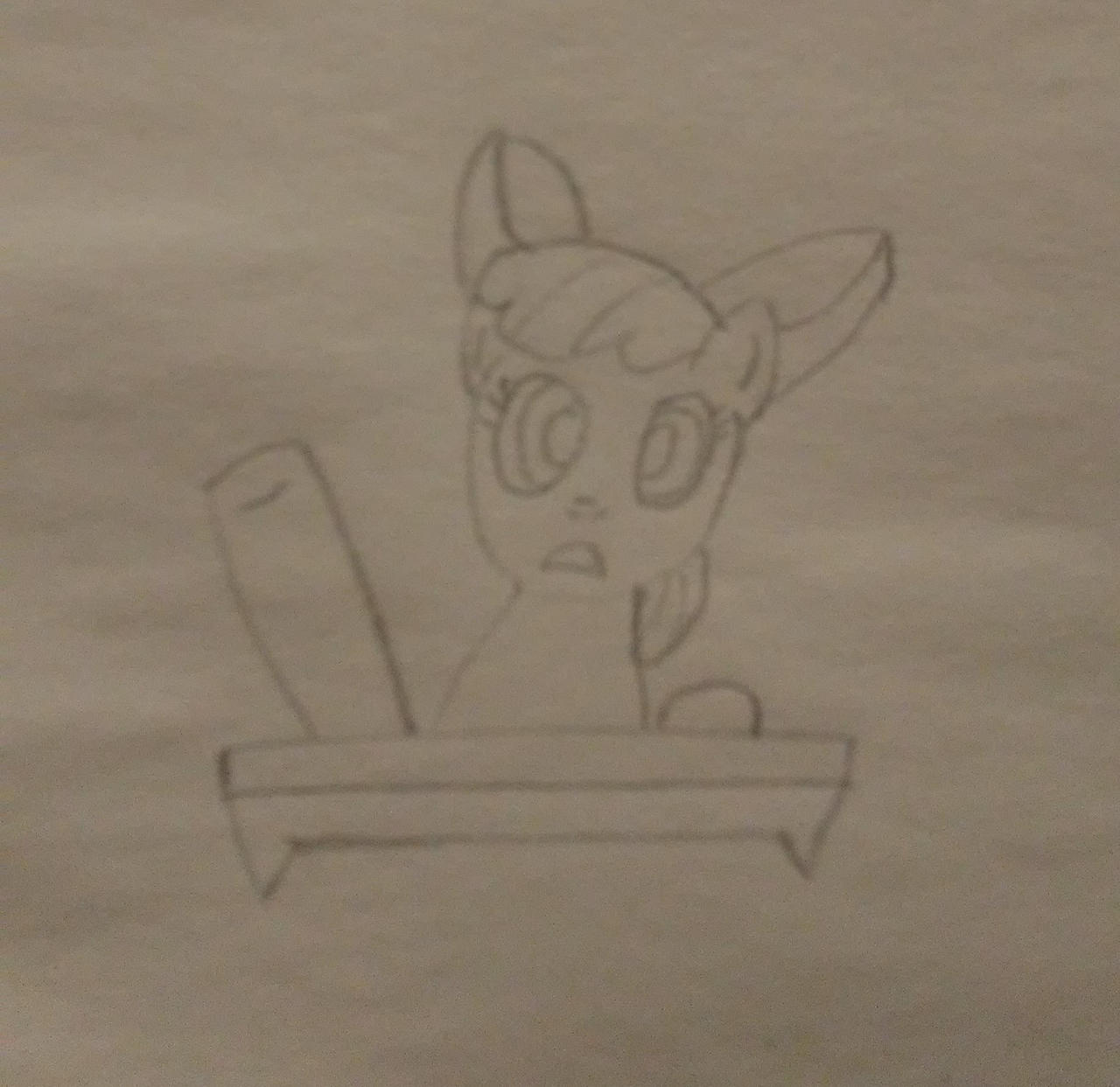 Apple Bloom asking a question