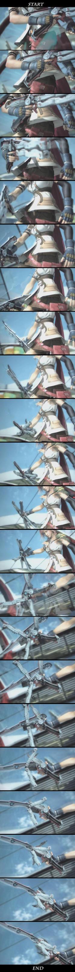 FFXIII Sword Transformation by Laitz