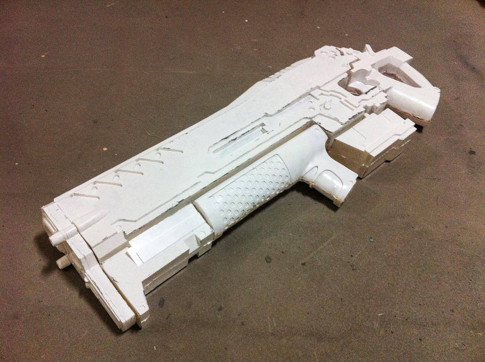 AGR-14 Gauss Rifle WIP by Laitz