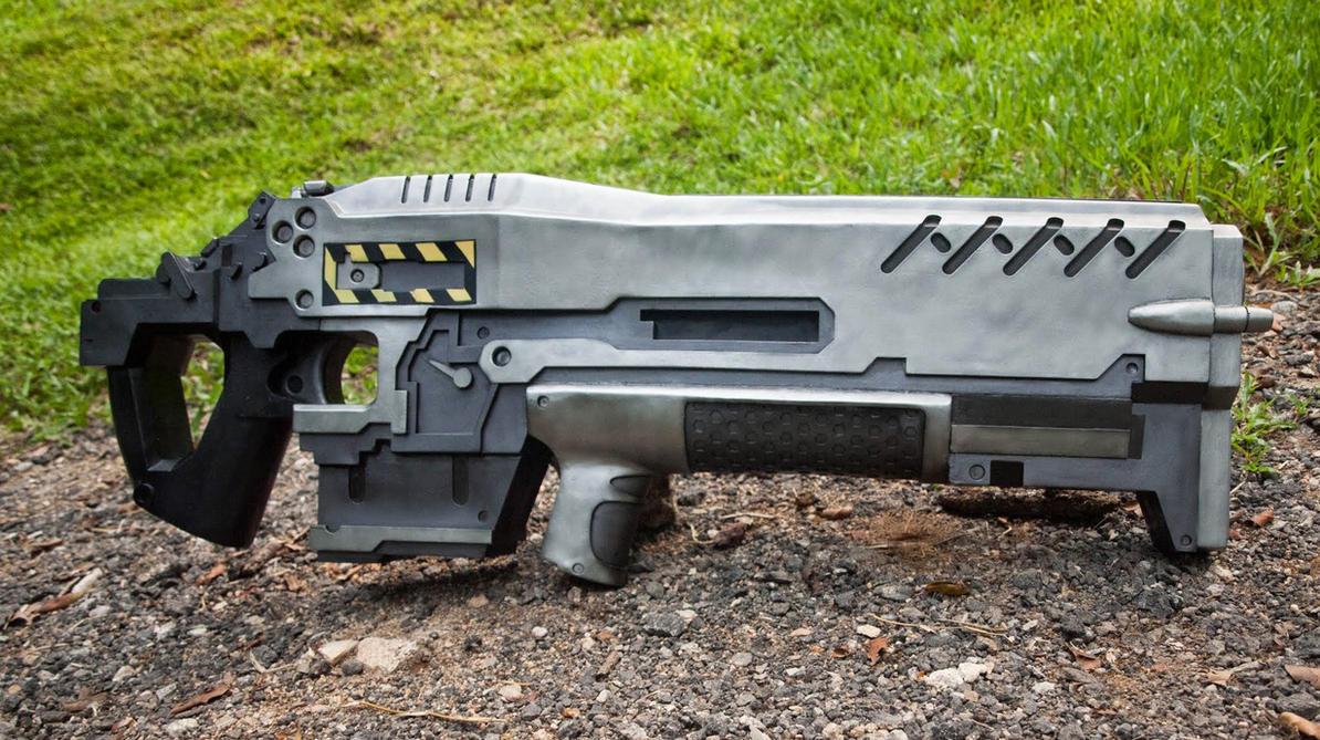 AGR-14 Gauss Rifle // Starcraft 2 [1] by Laitz