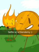 Selfie!  :)   by ThatOneGalWhoIsWeird