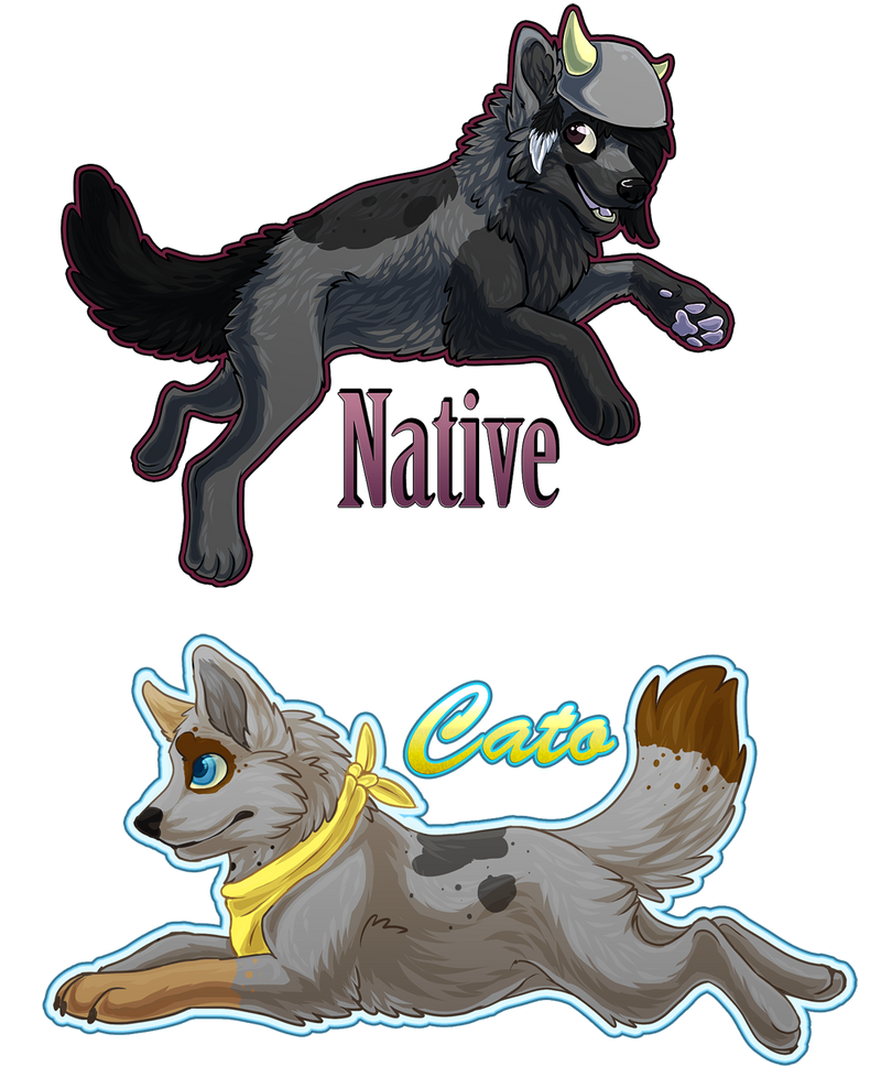 Native and Cato by Sethya