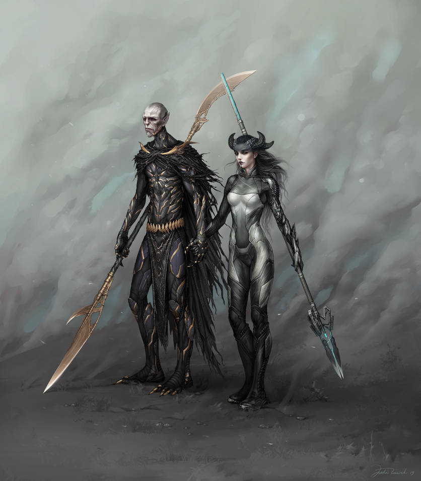 Corvus Glaive and Proxima fanart commission open