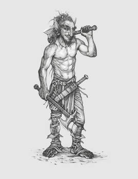Concept Character Goblin Zarg