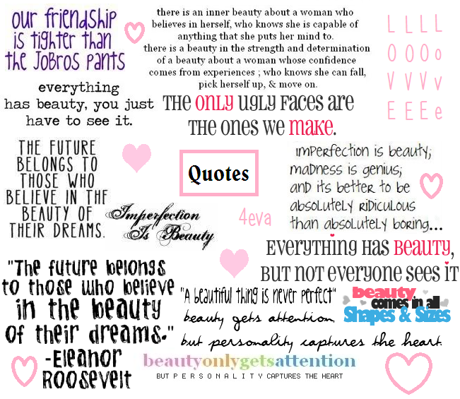 Quote collage art
