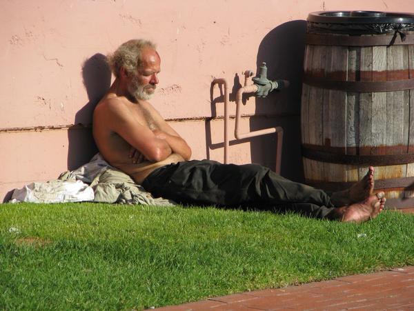 Homeless Man Stock 1