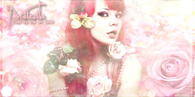 Voir la vie en rose... by Nuttestla